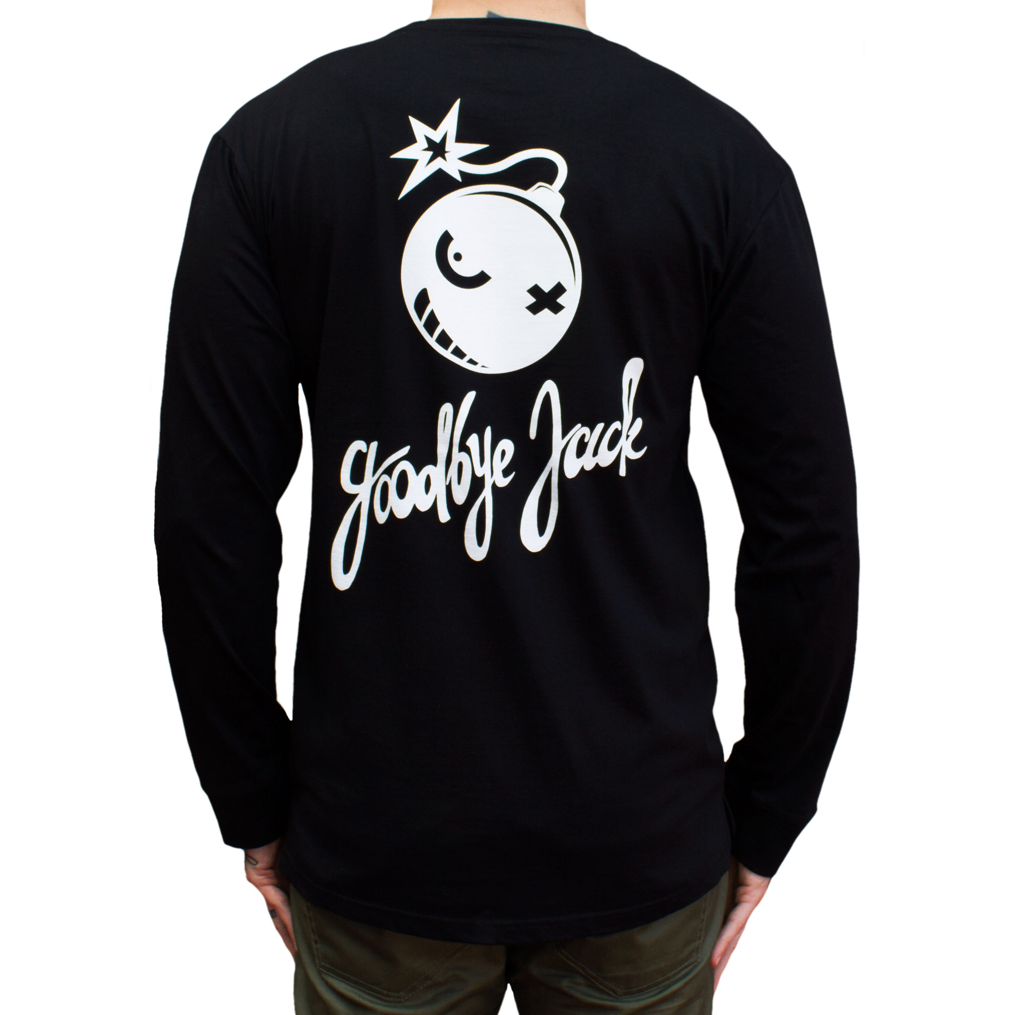 Bomber Long Sleeve Tee Black