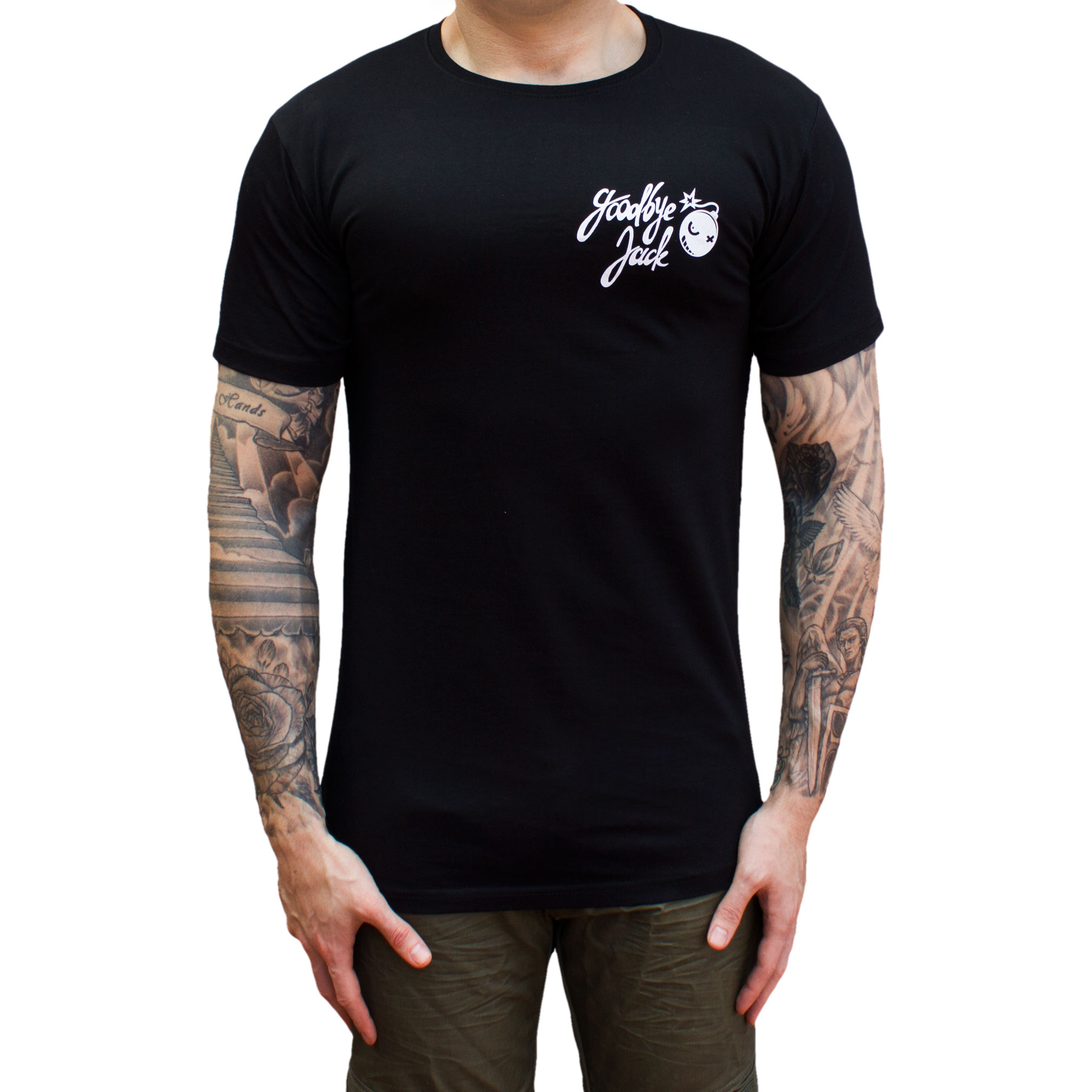 Bombs Away Tee Droptail Black