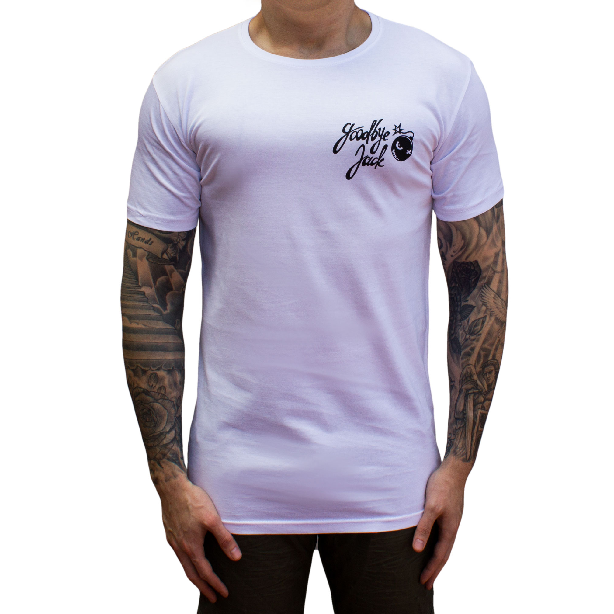 Bombs Away Tee Droptail White