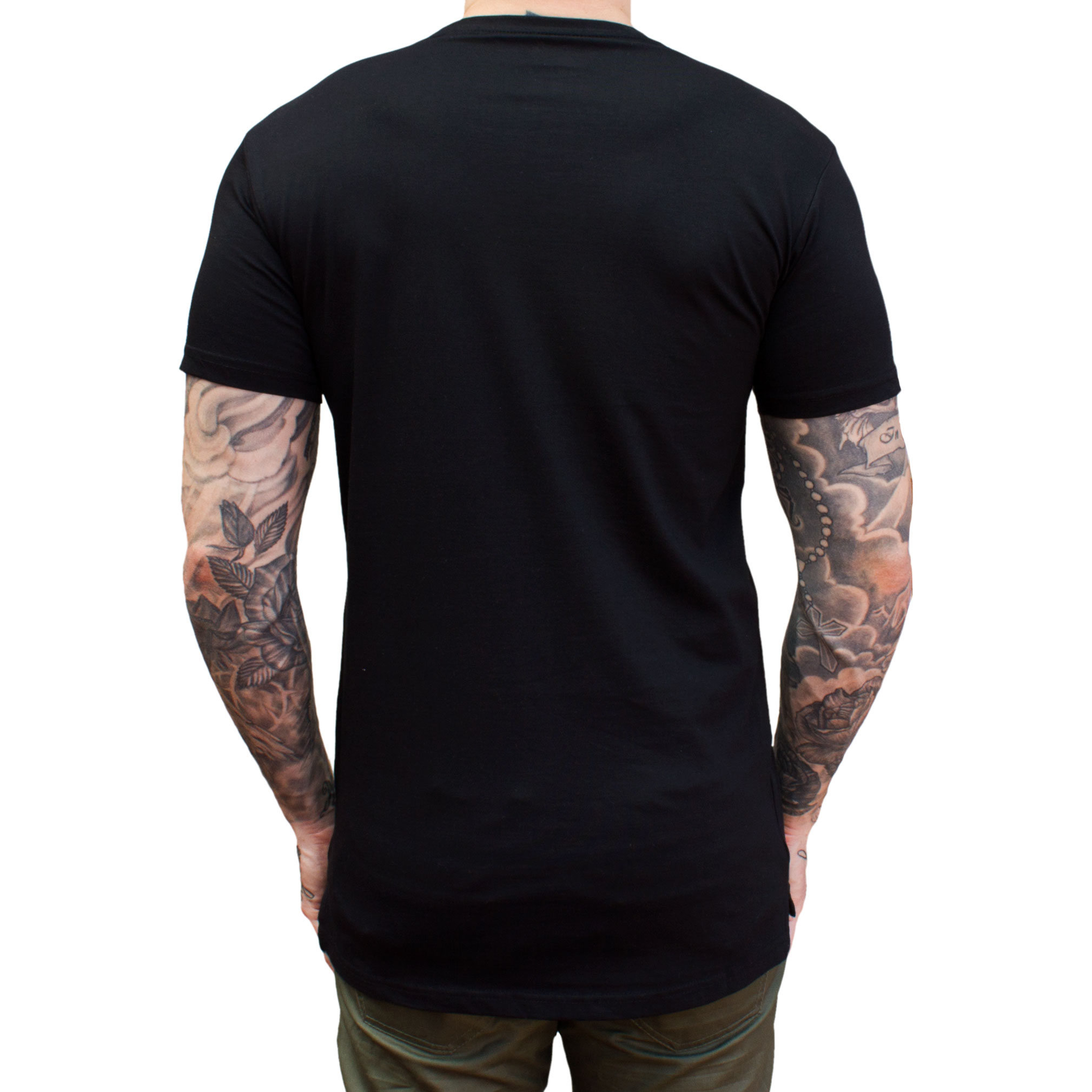 Classic Tee Droptail Black